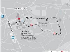 De meest prestigieuze tentoonstelling in de openbare ruimte is nu in Arnhem te zien: een route vol kunst