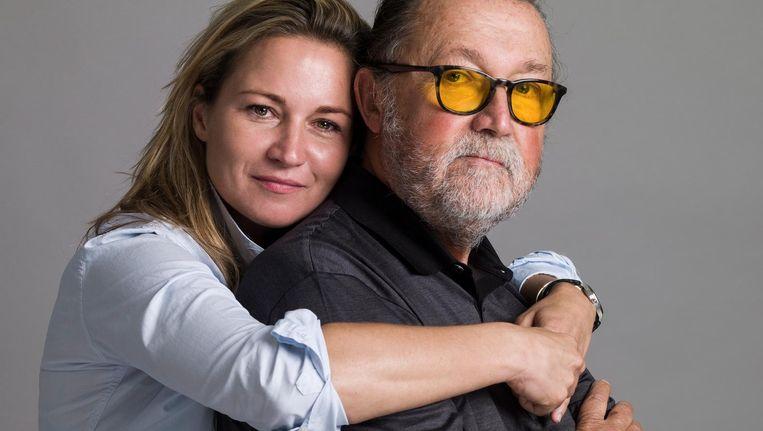 Lex Daniels en dochter Michou Beeld Koos Breukel