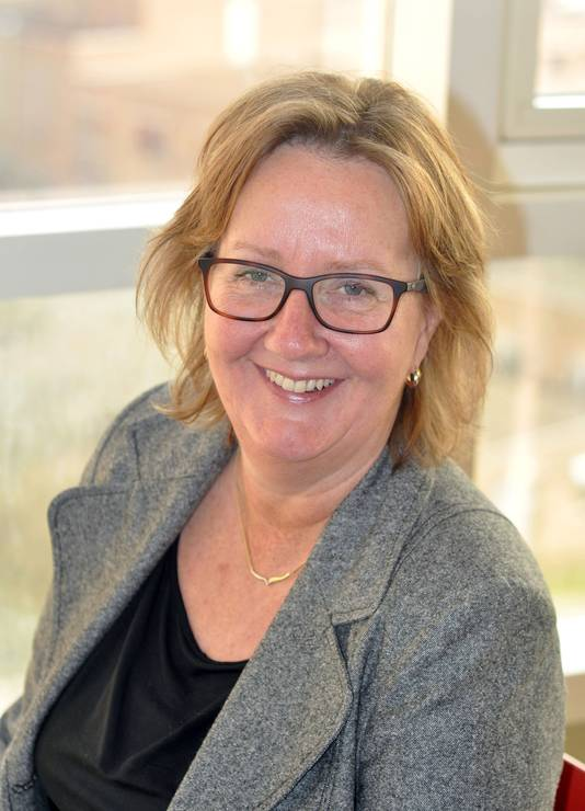 Directeur Anja Blonk.