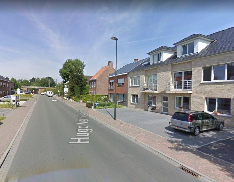 De Hugo Verriestlaan in Torhout.