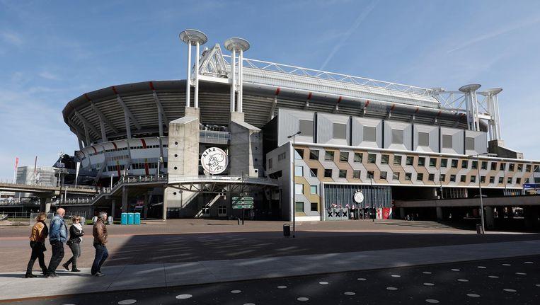 De Johan Cruijff Arena is kandidaat voor de openingswedstrijd van het EK 2020. Beeld anp