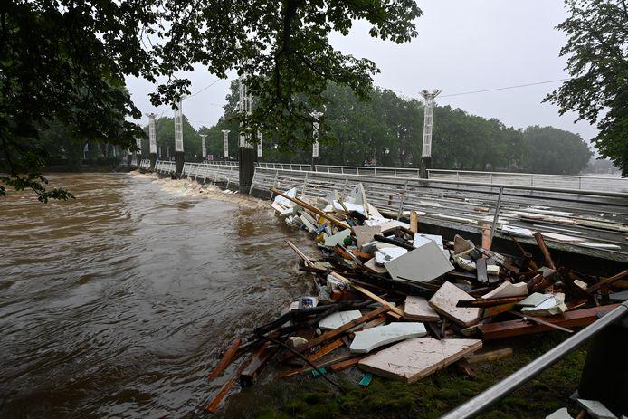 De ravage in Luik en omgeving is enorm.