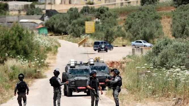 Israëlische politie doodt 2 aanvallers na poging tot aanslag op Westelijke Jordaanoever