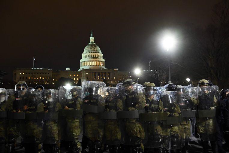 Washington DC, woensdagavond. Beeld AFP