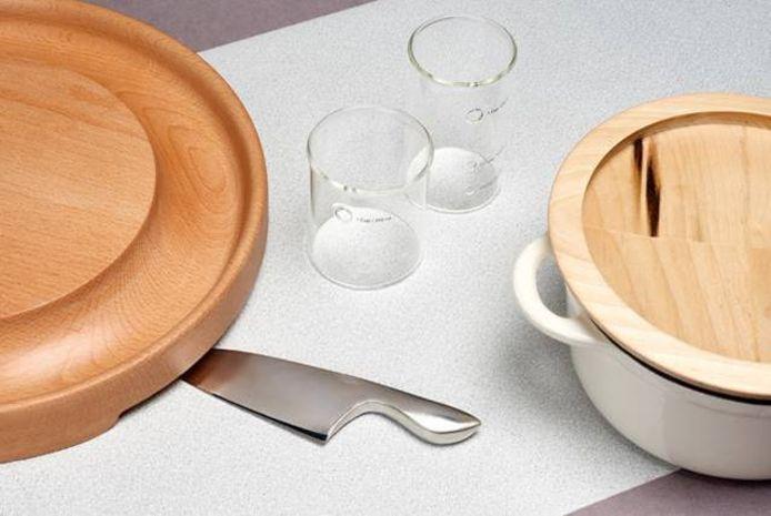 De keukenspullen van Haptics of Cooking