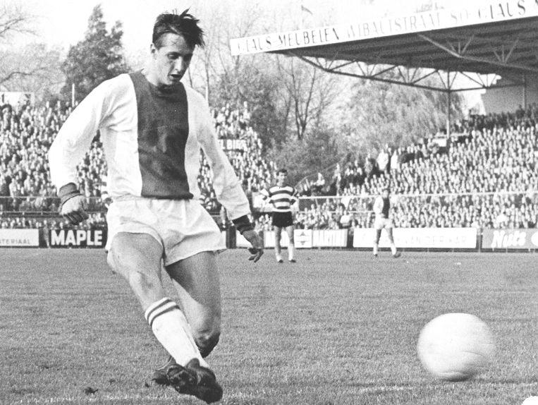 Johan Cruijff, 1969. Beeld ANP