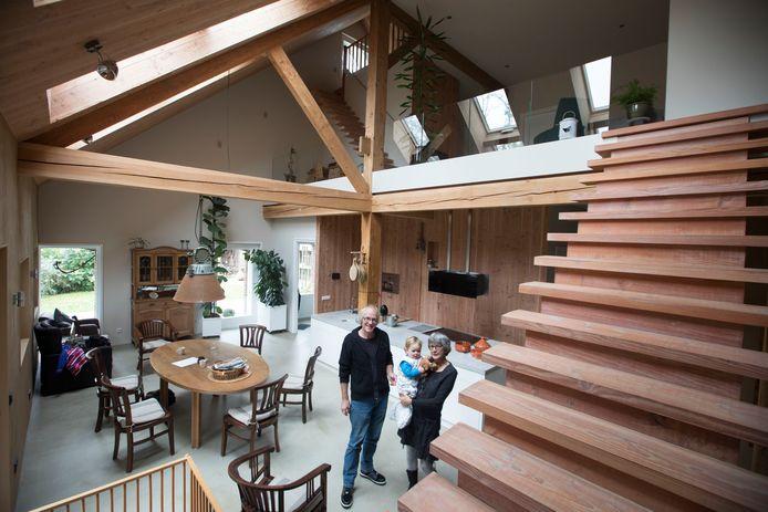 Oscar en Paula Heesterbeek in hun energie passief huis