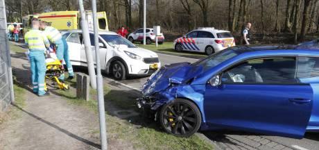 Twee gewonden bij ongeval op Luchthavenweg Eindhoven