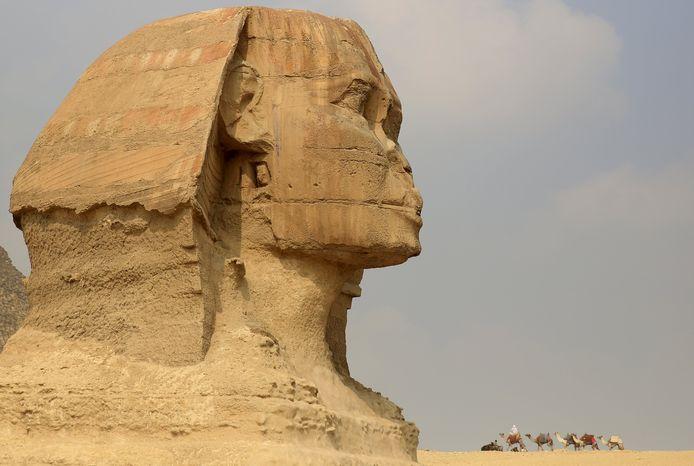 De grote Sfinx van Gizeh.