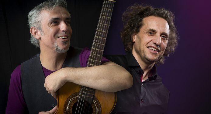 Carlos Denia (links) en Thijs Borsten