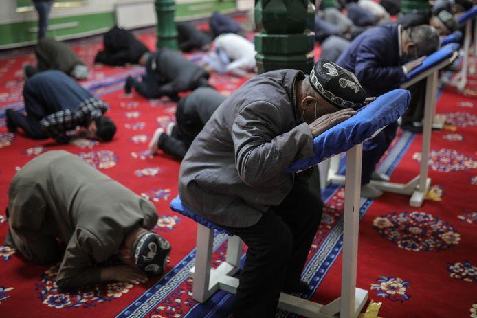 Les Ouïghours, une minorité musulmane de la province du Xinjiang (nord-ouest de la Chine)