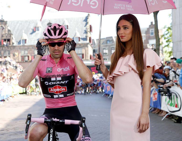 Tom Dumoulin zal starten in de Ronde van Italië en wellicht ook in de Ronde van Frankrijk. Beeld ANP