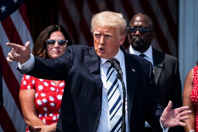 Trump heeft bijna een dagtaak aan alle rechtszaken.