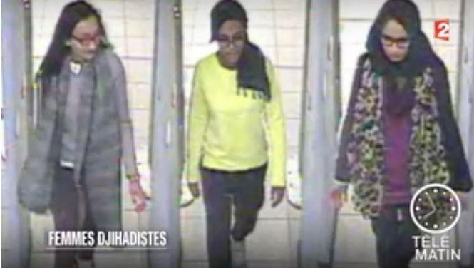 De Britse Kadiza Sultana (16), Shamima Begum (15) en Amira Abase (15) gingen naar Syrië en zouden in Raqqa zitten.