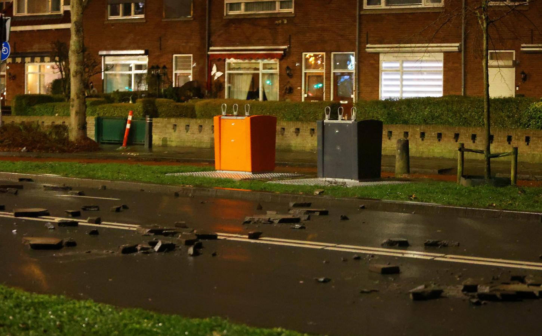 Er werd met stenen gegooid tijdens de avondklokrellen in Den Bosch.