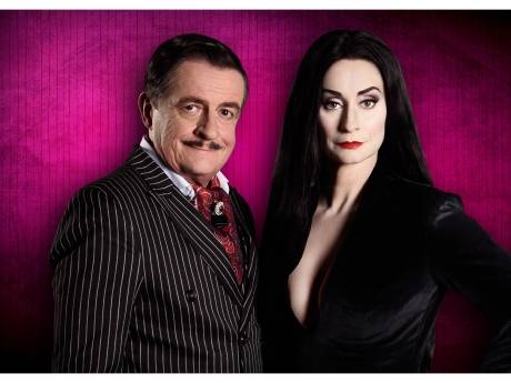 The Addams Family elf keer genomineerd voor Musical Awards