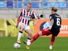 Willem II-debutant Vincent Schippers: 'Het ging wel okay voor de eerste keer'