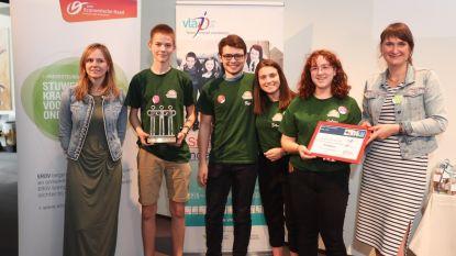 Sint-Jozefschool in de prijzen met miniondernemingen TreeDeco en Joy4Pets