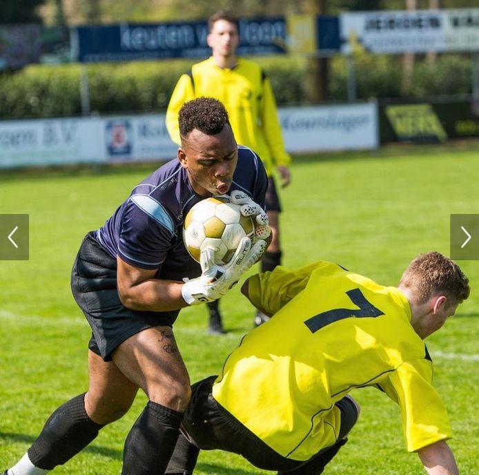 Devidson Janzen speelt volgend seizoen voor SV De Braak.