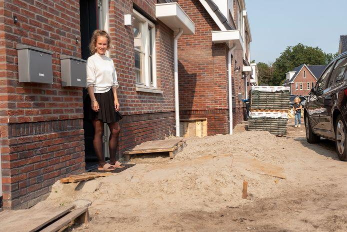 Natasja Veldhuis is een van de gedupeerde bewoners.
