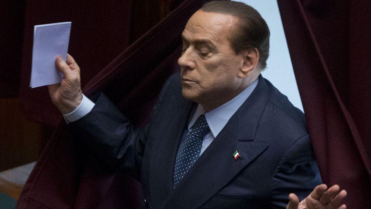 Silvio Berlusconi Beeld ap