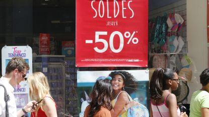 Winkeliers sluiten eerste soldendag af met status quo tot lichte winst