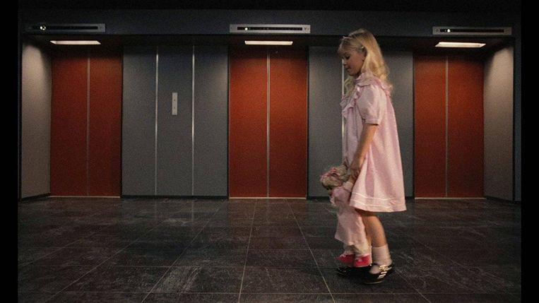 Isabelle Brok in De lift van Dick Maas. Beeld