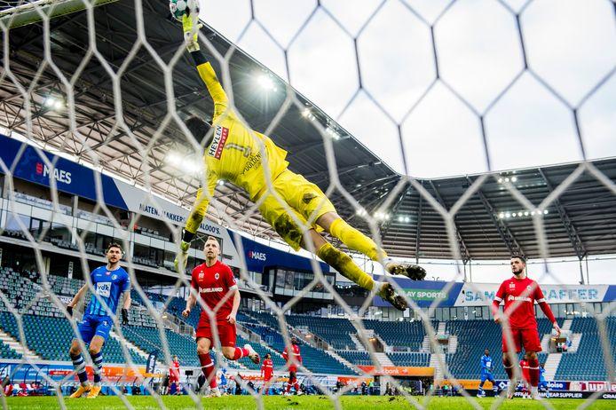 Après plusieurs prestations compliquées, Alireza Beiranvand a rassuré l'Antwerp ce dimanche.