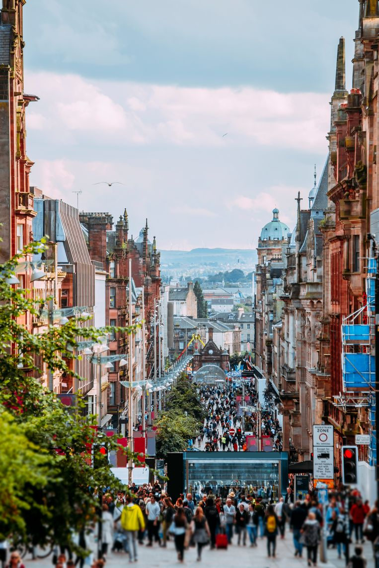 Glasgow.  Beeld getty images