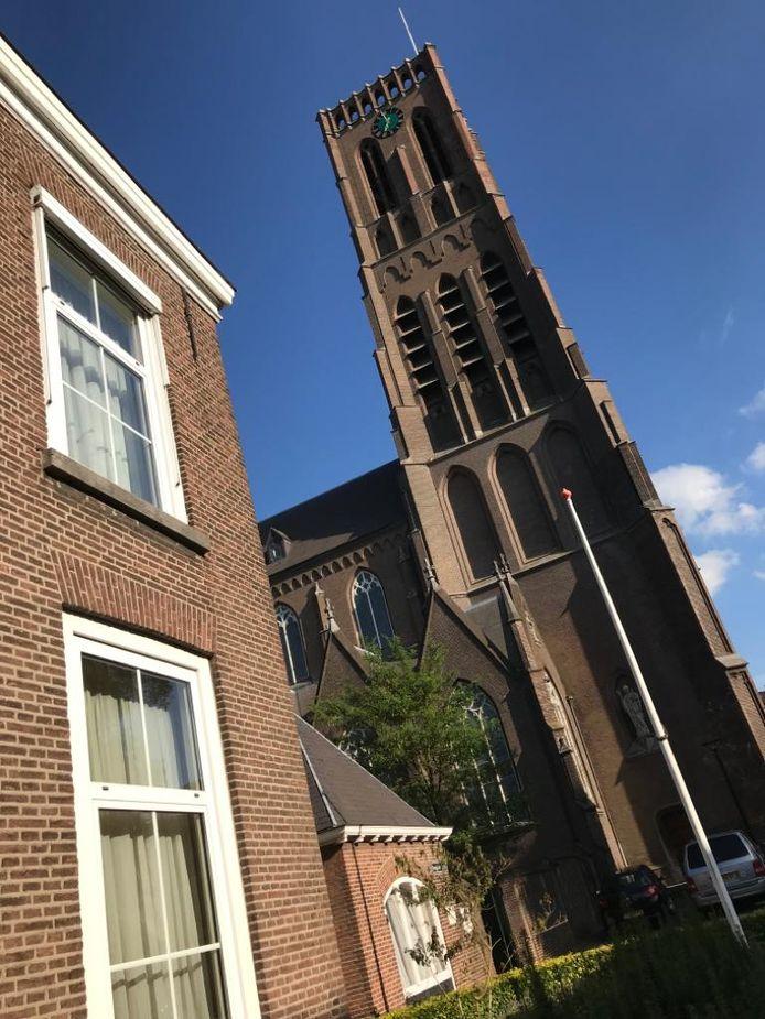 De Onze Lieve Vrouw Onbevlekt Ontvangen Kerk, beter bekend als de Grote Kerk van Oss.