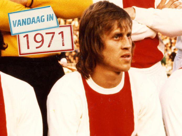 Nico Rijnders voor aanvang van de finale tegen Panathinaikos.