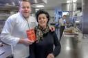 Henrie en Ingrid van der Heijden, toen ze net hun eerste Michelinster kregen.    Willemstad - Henrie van der Heijden wint Michelinster - restaurant Vista