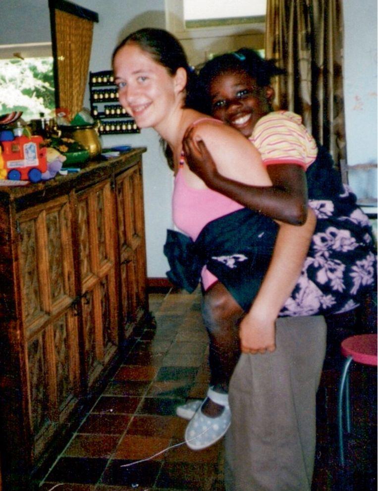 'Mede door Sharon kreeg Annick een grote liefde voor andere culturen. Dat is blijven groeien.' Beeld RV