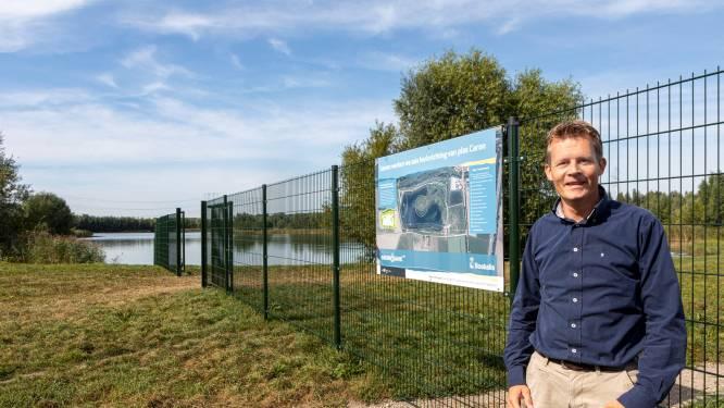 Flauwe oevers, rieteilanden en moeraszones: de Plas van Caron wordt onder handen genomen