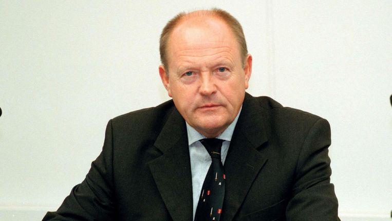 Oud-hoofdofficier van justitie Hans Vrakking in 2001. Beeld Fotobureau Dijkstra
