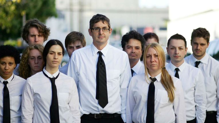 Een beeld uit 'My Scientology Movie'. Beeld rv