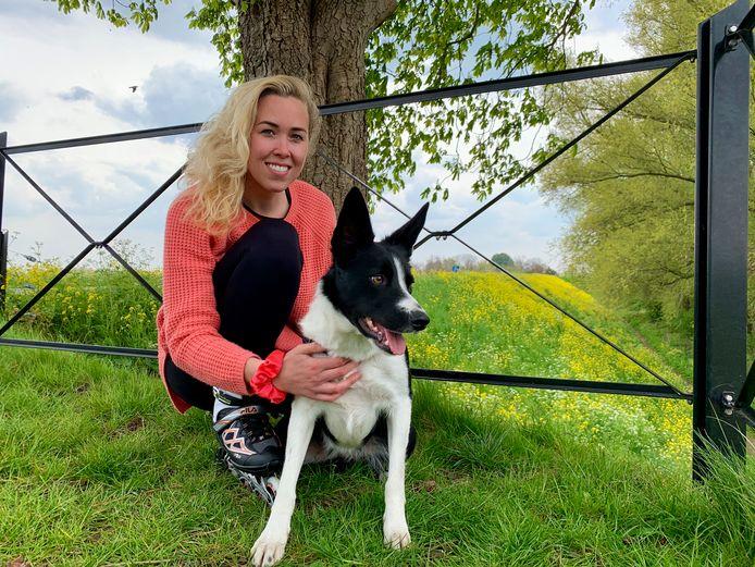 Lisa en haar hond Birdy (3)