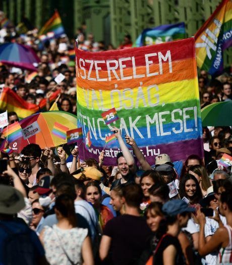 Duizenden Hongaren staan op tegen regering na omstreden lhbti-wet