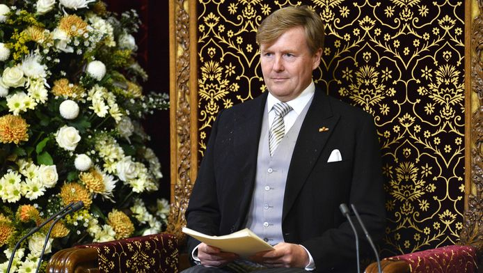 Le roi Willem-Alexander