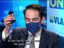 Le parquet réclame un PV à l'encontre de Tom Van Grieken pour son spray au poivre