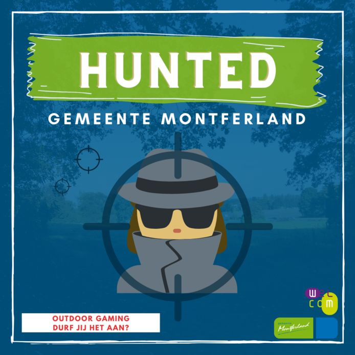 Affiche Hunted.
