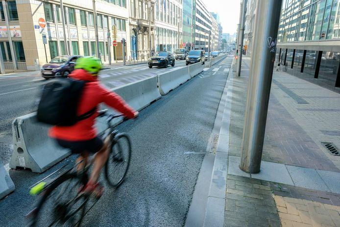 Wetstraat, fietsers