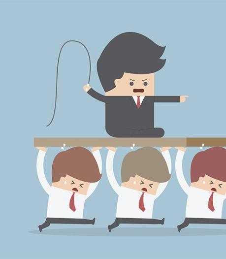 Waarom de een om kan gaan met een vreselijke manager, en de ander niet