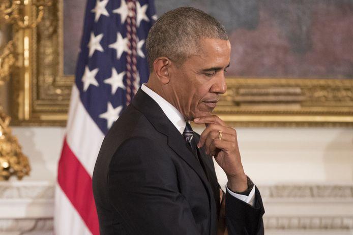 Voormalig president Barack Obama.