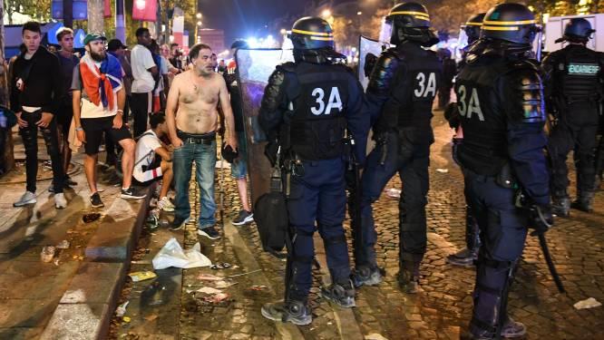WK-winst in Frankrijk loopt uit de hand: twintigtal arrestaties tijdens feestnacht, twee feestvierders komen om