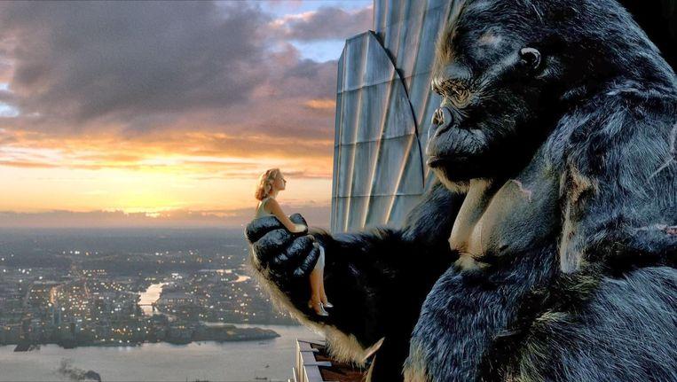 Naomi Watts en Andy Serkis in King Kong. Beeld