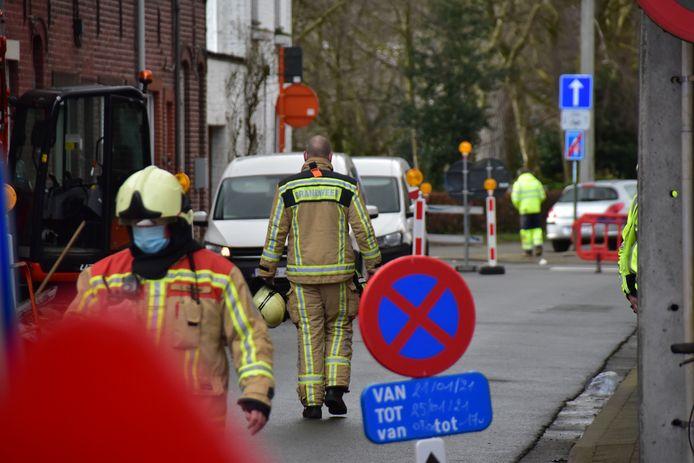 Het gaslek deed zich voor in de Handboogstraat, een straat tussen de Hoogleedsesteenweg en de Kattenstraat in Roeselare.
