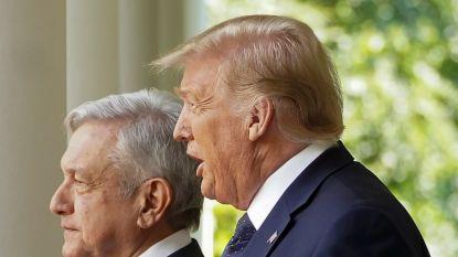"""Trump benadrukt """"uitstekende relatie"""" met Mexicaanse president"""