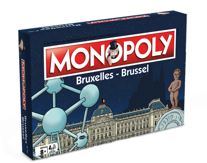 La boîte de la version bruxelloise du Monopoly ne devrait finalement pas ressembler à ça