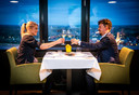 Pop-up restaurant van restaurant de Erwtenpeller uit Papendrecht in skybar van der Valk hotel Dordrecht.